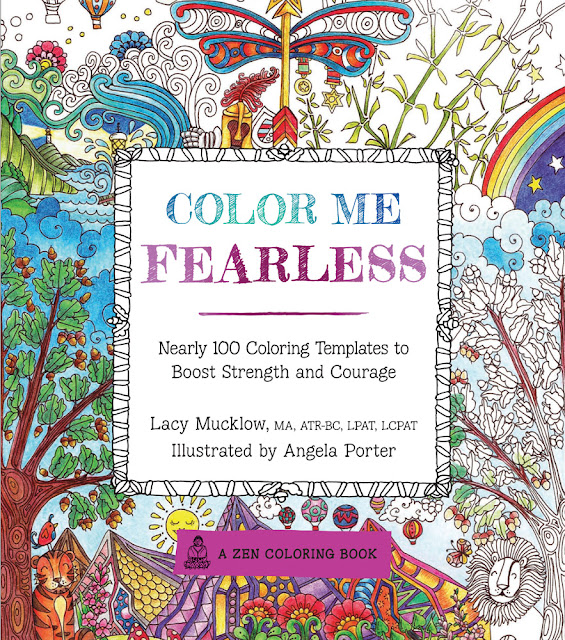 Crafty Moms Share Color Me Fearless Relaxing Friday Adult