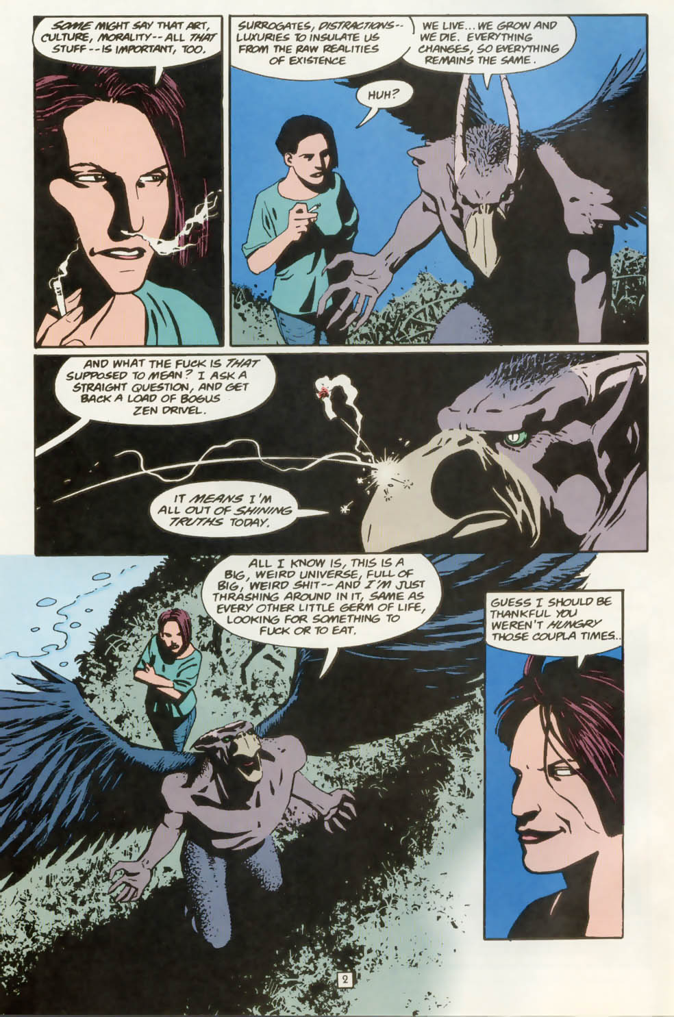 Read online Animal Man (1988) comic -  Issue #77 - 3