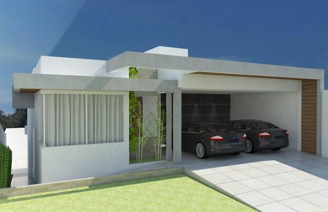Arquitetura val ria piassi projeto casa moderna for Fachadas de casas modernas 1 pavimento