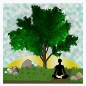 Gambar Orang sedang Meditasi