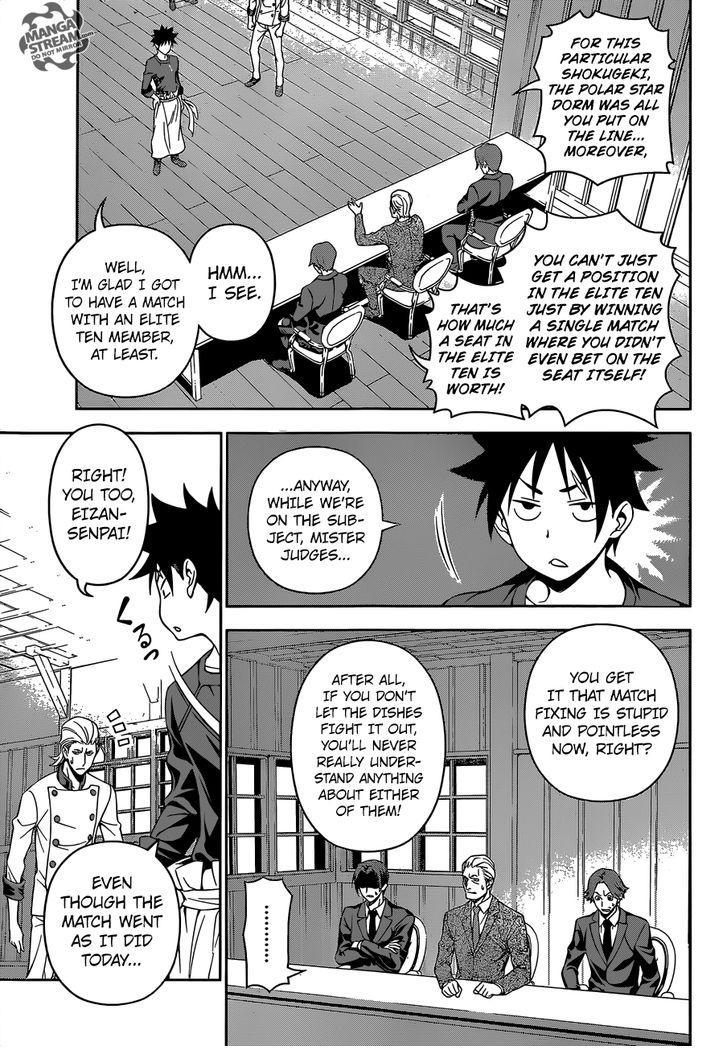 Shokugeki no Soma - Chapter 189