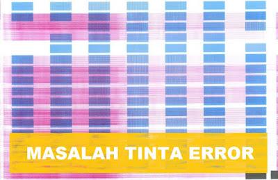Masalah Penyebab Tinta tidak keluar pada printer