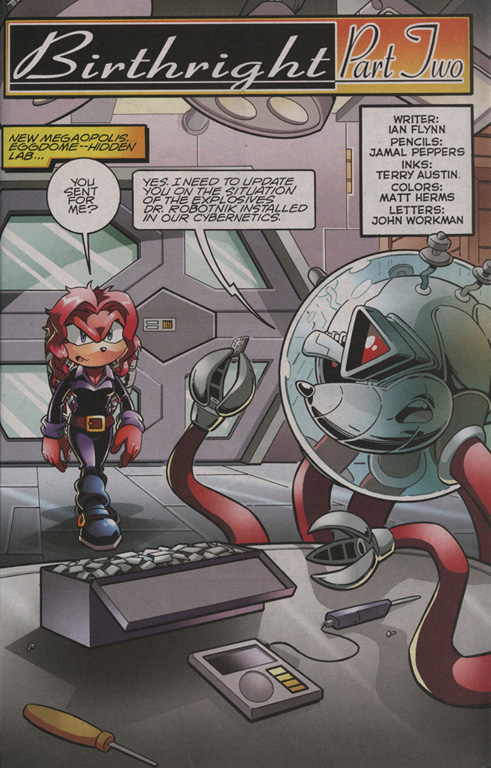 Read online Sonic The Hedgehog comic -  Issue #206 - 19