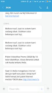 Aktivikasi paket videomax 30gb harga 10