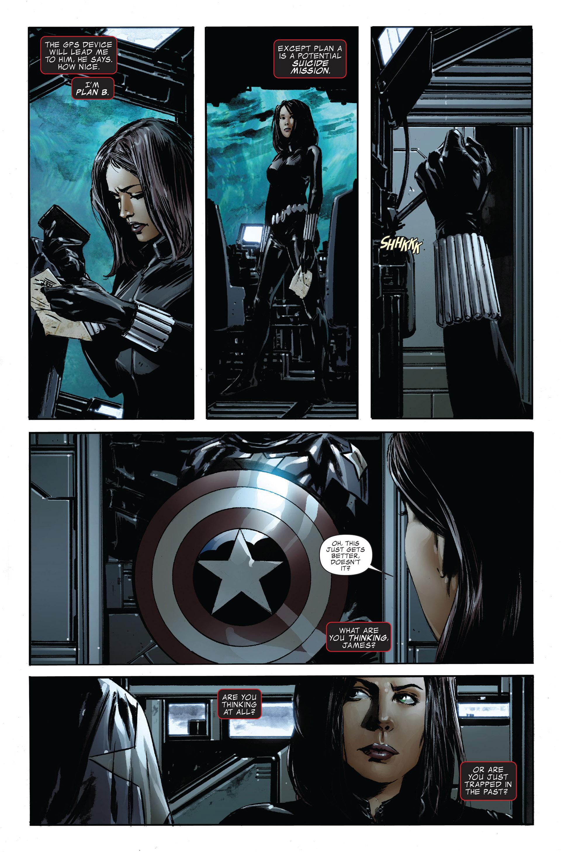 Read online Captain America (2005) comic -  Issue #47 - 18