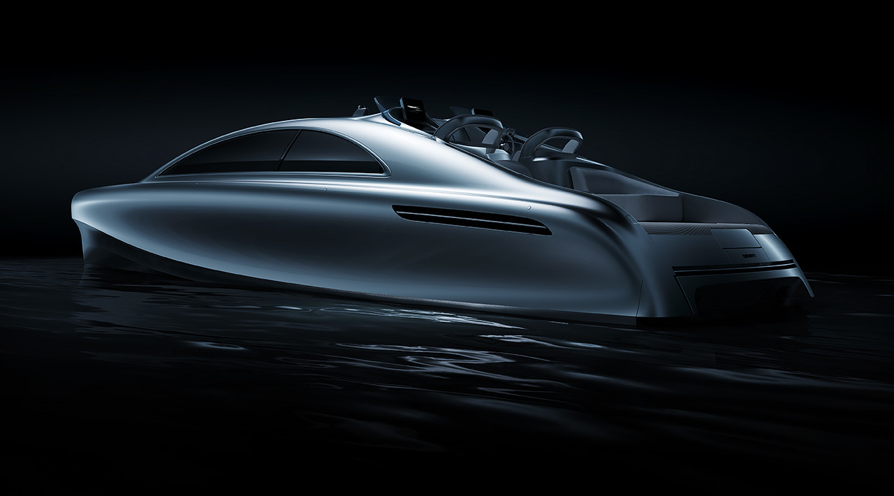 Passion for luxury motor yacht mercedes benz arrow 460 for Mercedes benz luxury