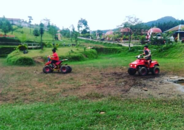atv bike rest area serang
