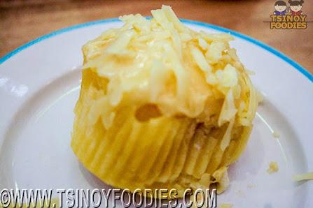vanilla signature ensaymada cupcake
