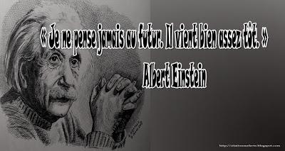 Citation Einstein de future