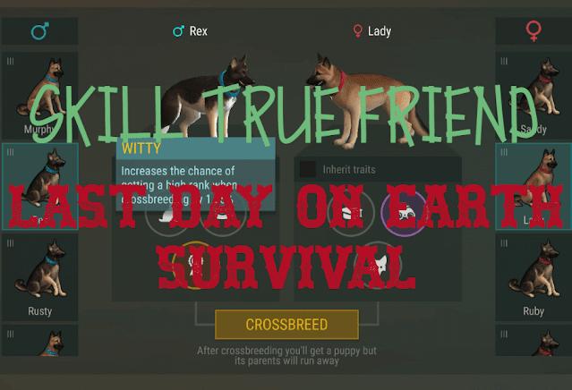 Cara Mendapatkan Skill True Friend Di Last Day On Earth