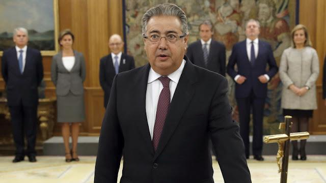 España: el Ministro de Interior defiende la actuación policial durante el referéndum en Cataluña