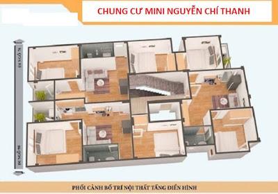 Chung cư mini Nguyễn Chí Thanh - Đống Đa chỉ 1 tỷ/căn-2PN