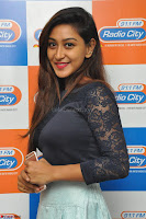 Shravya in skirt and tight top at Vana Villu Movie First Song launch at radio city 91.1 FM ~  Exclusive 27.JPG