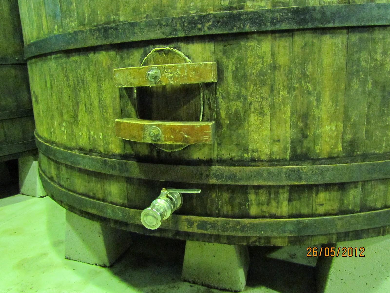 Pipas para vinhos