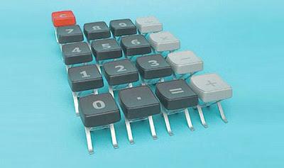 Sillon de teclado de computadora