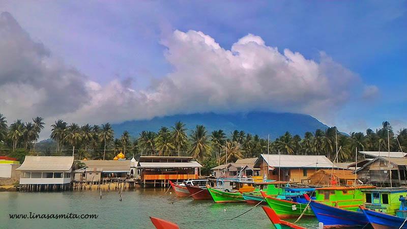 Pelabuhan Rakyat Desa Sepempang Natuna