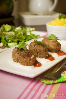 Kebab z sosem