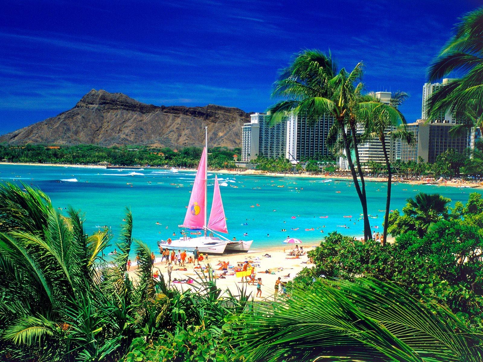 Waikiki Beach Wallpaper Hd: La Dolce Vida : Waikiki, Oahu, Hawaii