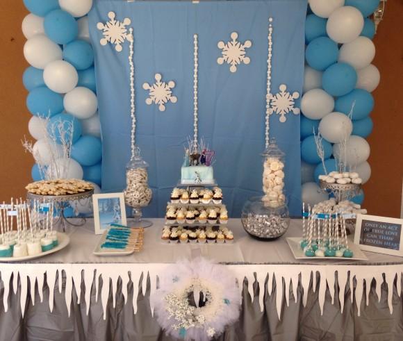 Copos De Nieve Para Decorar Fiesta Frozen.Como Crear Una Candy Bar De Frozen En 5 Pasos