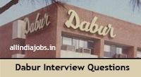 Dabur Interview Questions