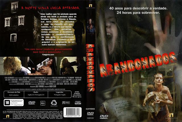 Capa DVD Abandonados