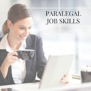 Paralegal Job Skills