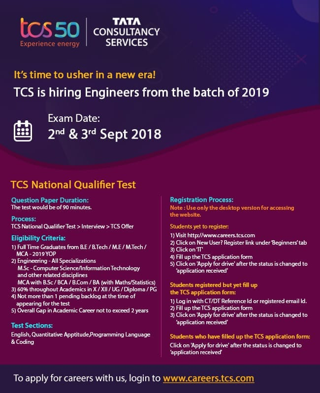 Tcs National Qualifier Test 2019 Archives Student Stack