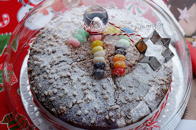 Greek New Year's Lucky Cake (Vasilopita)