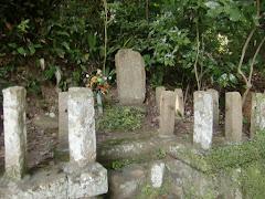 足利茶々丸の墓