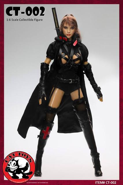 toyhaven: Cat Toys 1:6 scale Dark Mourner 12-inch female ...
