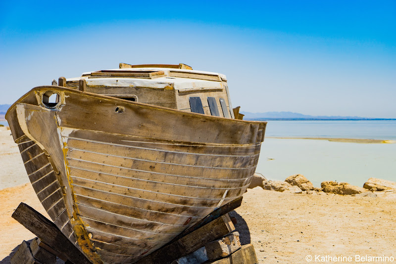 Abandoned Boat Bombay Beach Salton City Ghost Towns Photography