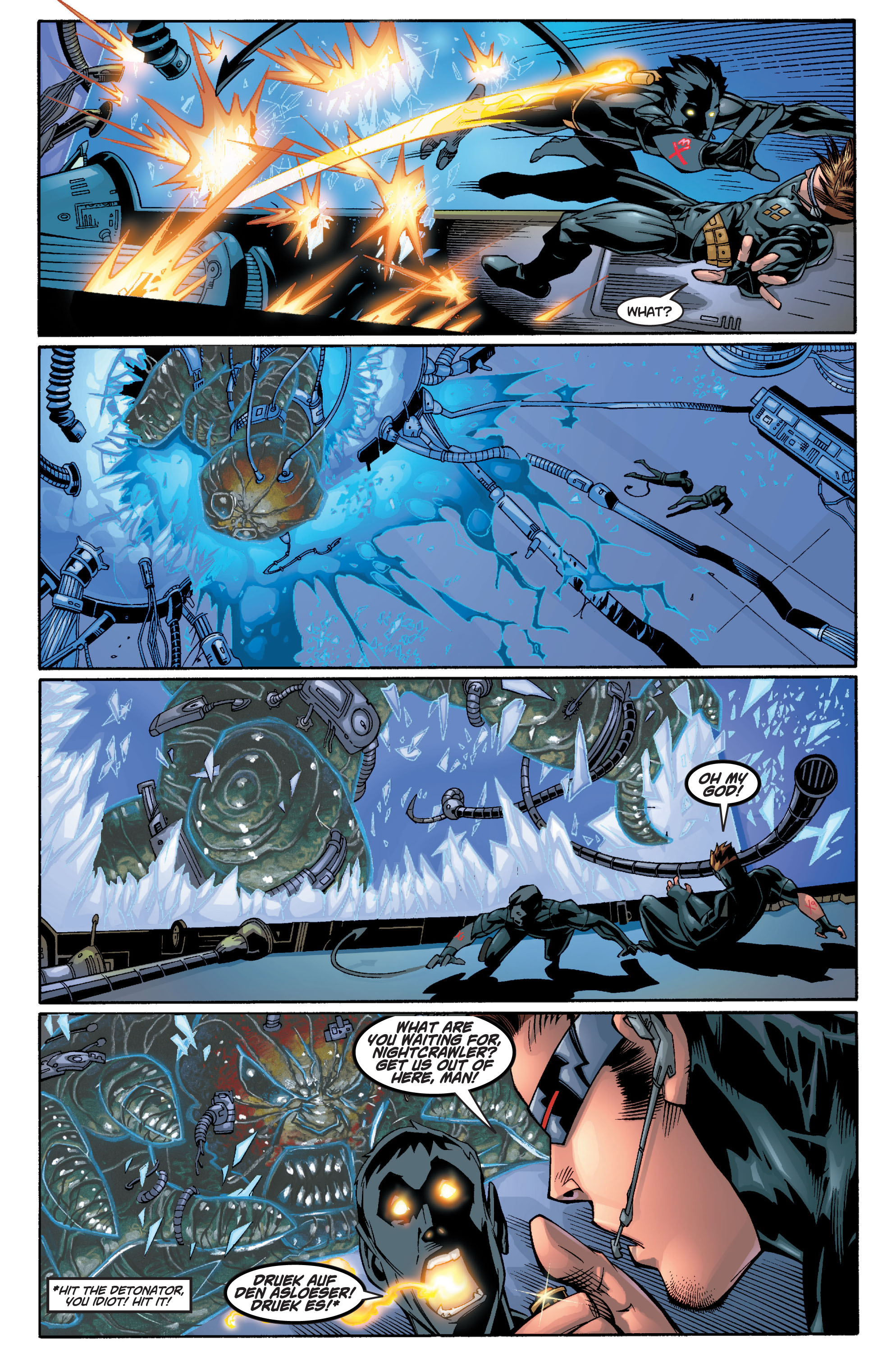 Read online Ultimate X-Men comic -  Issue #10 - 11