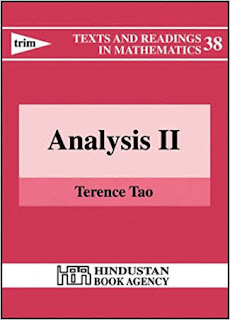 TEXTS AND READINGS IN MATHEMATICS ANALYSIS-2 BY TERENCE TAO