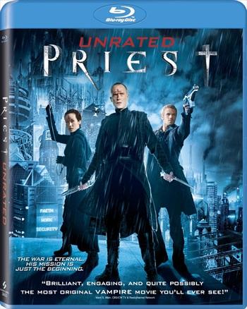 Free Download Priest 2011 Dual Audio Hindi 720p BluRay 950mb