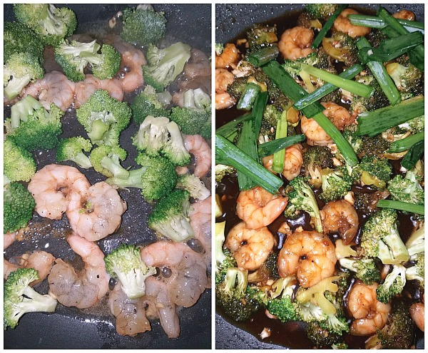 Steps to make easy healthy Honey Garlic Shrimp