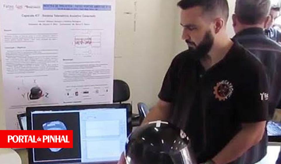 Tecnologia: Alunos da Fatec Mogi Mirim (SP) criam capacete com tecnologia inovadora