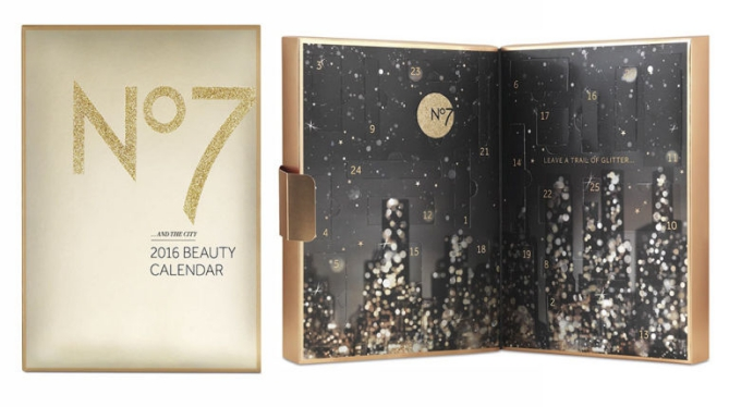 No7 beauty Advent calendar 2016