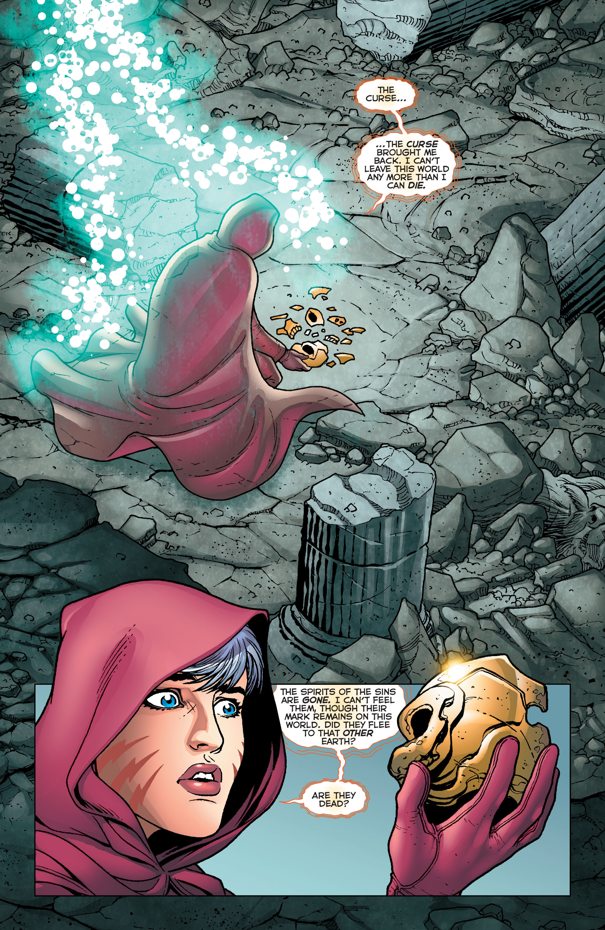 Read online Trinity of Sin: Pandora comic -  Issue #4 - 7