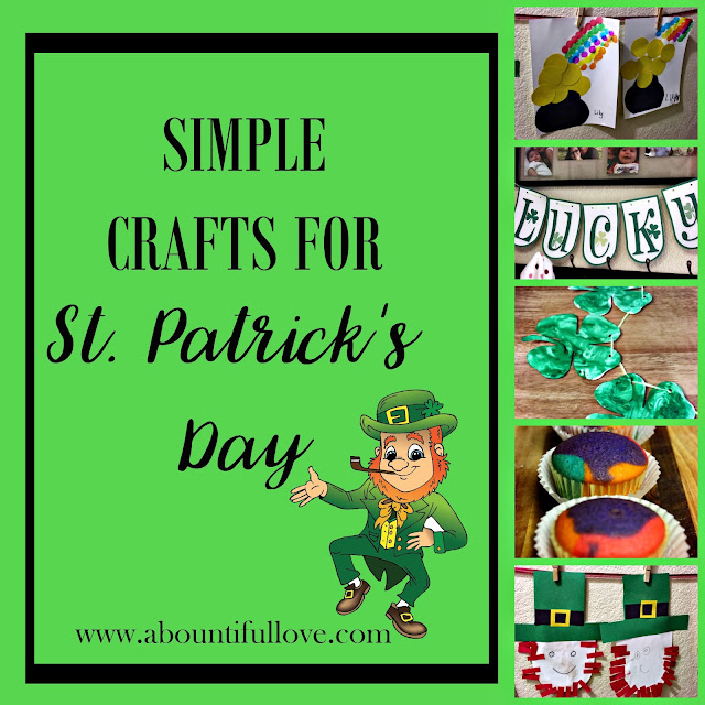 Simple Crafts for St. Patrick's Day