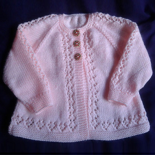 4181edd64 Craft Passions  Baby cardigan ..  free  knitting pattern link here