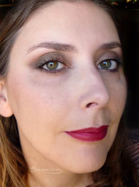 Estee Lauder x Victoria Beckham Eye Palette: wearing fotd motd