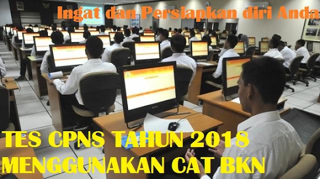 Info Pendaftaran Seleksi CPNS 2018