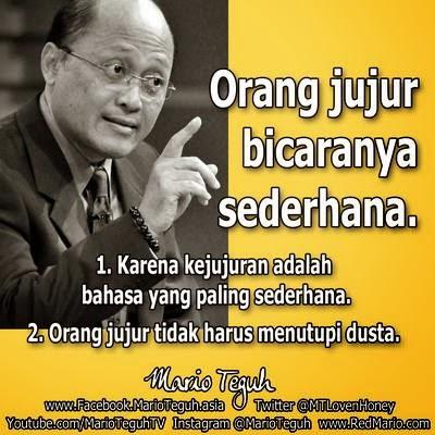 Kata Bijak Kejujuran Mario Teguh Cikimm Com