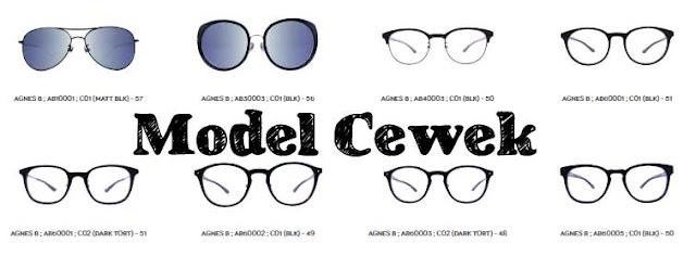 jenis atau frame kacamata wanita di optik tunggal