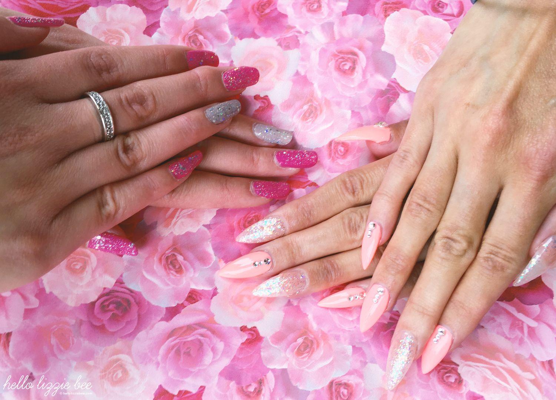 simple gyaru nails