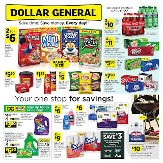 ⭐ Dollar General Ad 6/16/19 and 6 23 19 ✅ Dollar General Weekly Ad June 16 2019