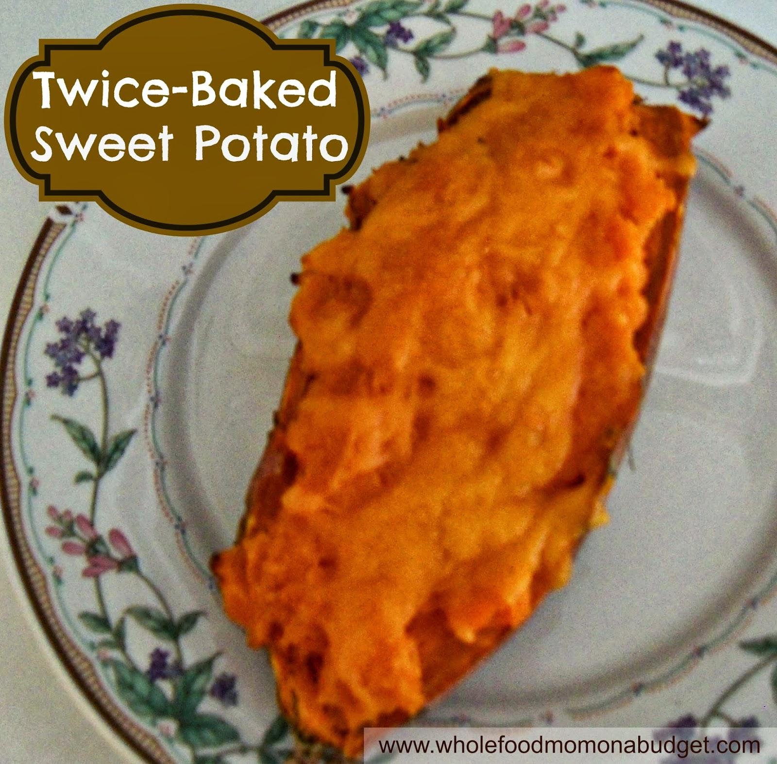 ... TwiceBaked Sweet Potatoes. Healthy Twice Baked Sweet Potato Recipes
