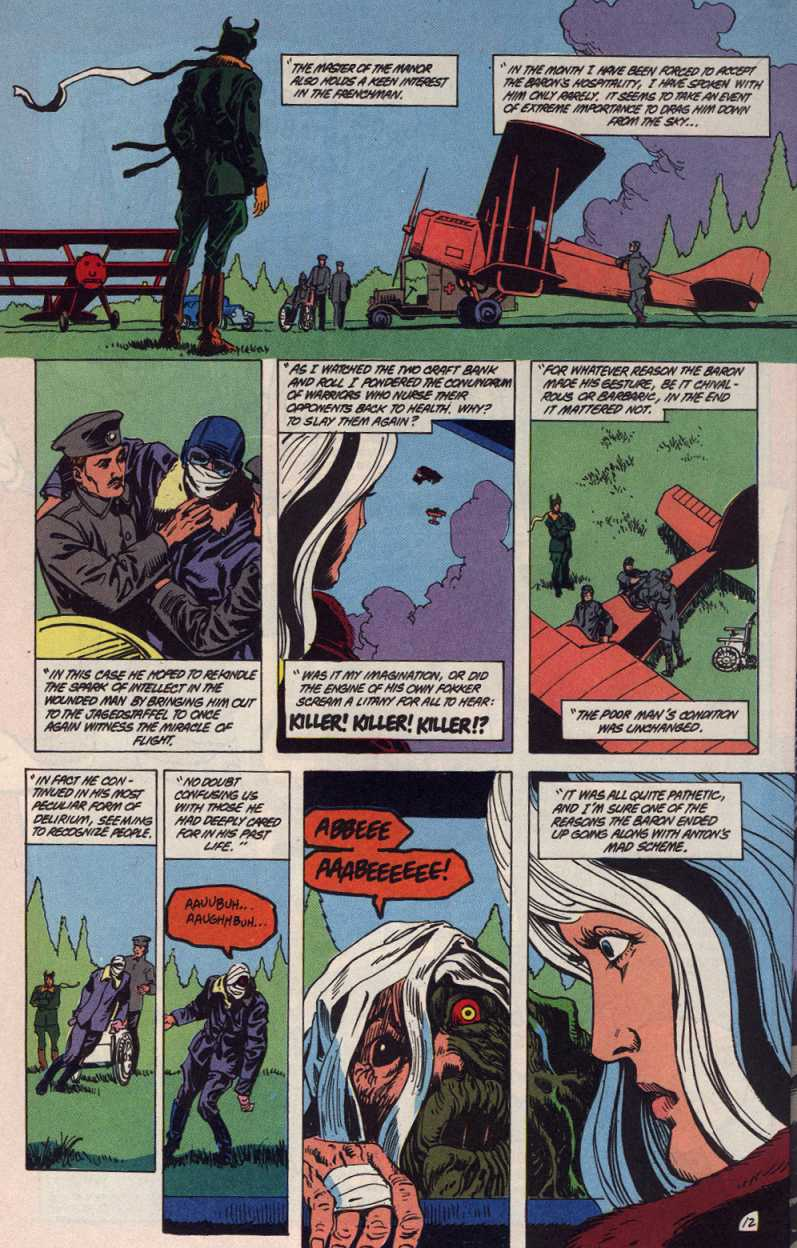 Swamp Thing (1982) Issue #83 #91 - English 12