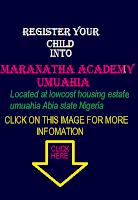 MARANATHA ACADEMY REGISTERATION