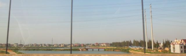 Rückfahrt von Lingang nach Shanghai